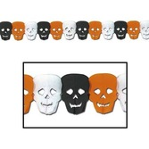 Halloween Decorations Skull Garland Image