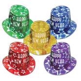 New Years Hats & Headwear Gem Star Hi Hats Image