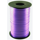 Mardi Gras Balloons Curling Ribbon Purple Image