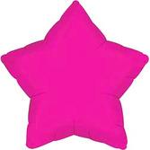 Balloons Hot Pink Star Mylar Image
