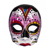 Day of the Dead Party Wear Day of the Dead Female Mask Image