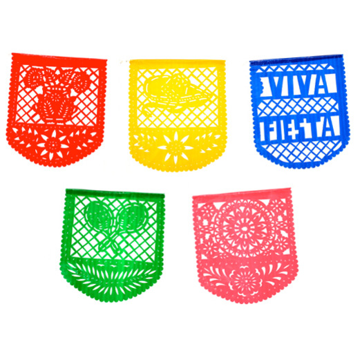 cinco de mayo decorations mexican fiesta party flags image - Fiesta Decorations
