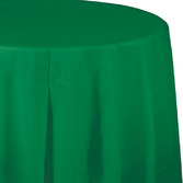 St. Patrick's Day Table Accessories Round Table Cover Green Image