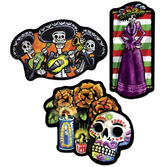 Day of the Dead Decorations Day of the Dead Cutouts Image