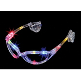 Cinco de Mayo Glow Lights Colored L.E.D. Sunglasses Image
