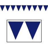 4th of July Decorations Blue Pennant Banner Image