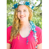 Cinco de Mayo Hats & Headwear Turquoise and White  Flower Crown Image