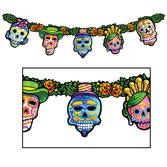 Day of the Dead Decorations Day of the Dead Streamer Image