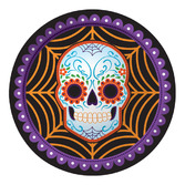 Day of the Dead Table Accessories DOD Web Dinner Plates Image