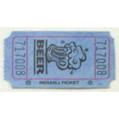 Tickets & Wristbands Blue Beer Ticket Roll Image
