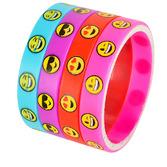 Favors & Prizes Emoji Silicone Bracelets Image