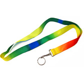 60s & 70s Favors & Prizes Tie Dye Lanyards Image