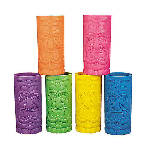 Luau Table Accessories Plastic Tiki Cup Image