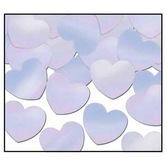 Valentine's Day Decorations Iridescent Hearts Confetti Image