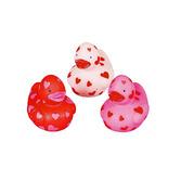 Valentine's Day Favors & Prizes Mini Valentine Rubber Duckies Image