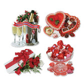 Valentine's Day Decorations Valentine Sweetheart Cutouts Image
