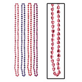 Valentine's Day Party Wear Heart Bead Necklaces Image