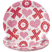 Valentine's Day Table Accessories Valentine's Day Dessert Plates Image
