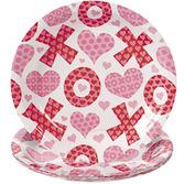 Valentine's Day Table Accessories Valentine's Day Dessert Plates Image