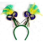 Mardi Gras Hats & Headwear Mardi Gras Mask Bopper Image