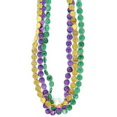 Mardi Gras Party Wear Mardi Gras Coin Necklaces Image