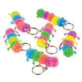 Spring & Summer Favors & Prizes Caterpillar Keychains  Image