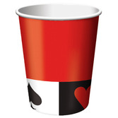 Casino Table Accessories Card Night Paper Cups Image