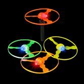 Glow Lights Light Up Flying Discs Image