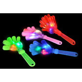 Fiesta Glow Lights Light Up Clapping Hand Image