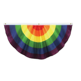 Decorations Rainbow Fabric Bunting Image