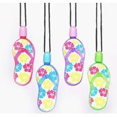 Luau Favors & Prizes Flip Flop Bubble Necklaces Image