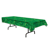 Luau Table Accessories Palm Leaf Tablecover Image