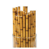 Luau Table Accessories Bamboo Paper Straws  Image
