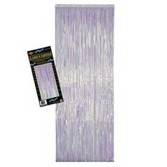 Wedding Decorations Iridescent Metallic Fringe Curtain Image