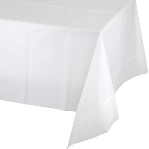 Wedding Table Accessories Rectangular Table Cover White Image