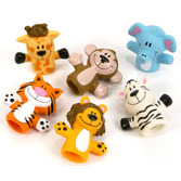 Birthday Party Favors & Prizes Zoo Animal Finger Puppets Image