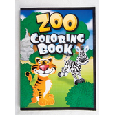 Jungle & Safari Favors & Prizes Zoo Coloring Books Image
