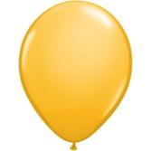 "Mardi Gras Balloons 11"" Goldenrod Balloons Image"