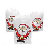 Christmas Gift Bags & Paper Plastic Santa Bags Image
