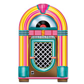 Fifties Decorations Jukebox Cutout Image