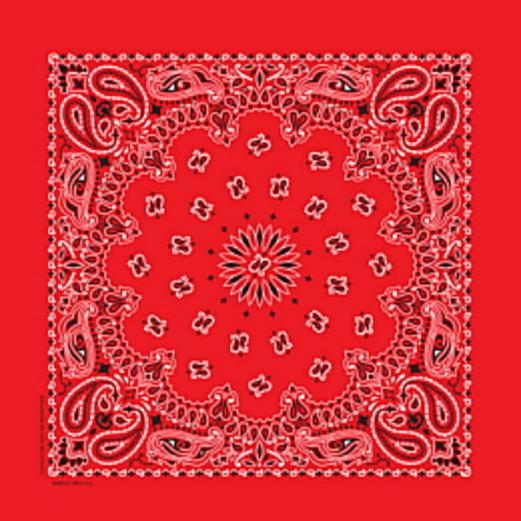 Western Party Wear Economy  Red Bandana Image
