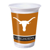 Sports Table Accessories Texas Printed Plastic Cups Image