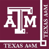 Sports Table Accessories Texas A&M Beverage Napkins Image