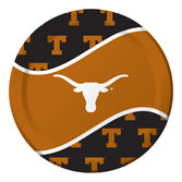 Sports Table Accessories Texas Dinner Plates Image