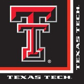 Sports Table Accessories Texas Tech Lunch Napkins Image