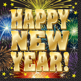 New Years Table Accessories New Year's Fireworks Beverage Napkins Image