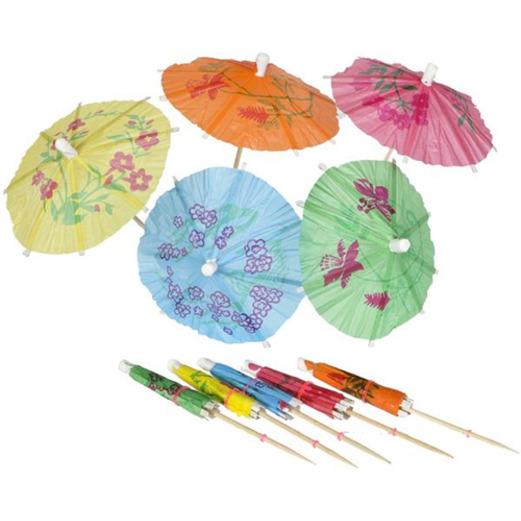 Luau Favors & Prizes Parasol Picks Image