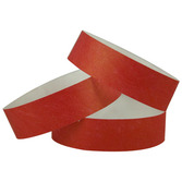 WB Tyvek Wristbands Red Image