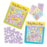 Baby Shower Decorations Baby Shower Bingo Game Image