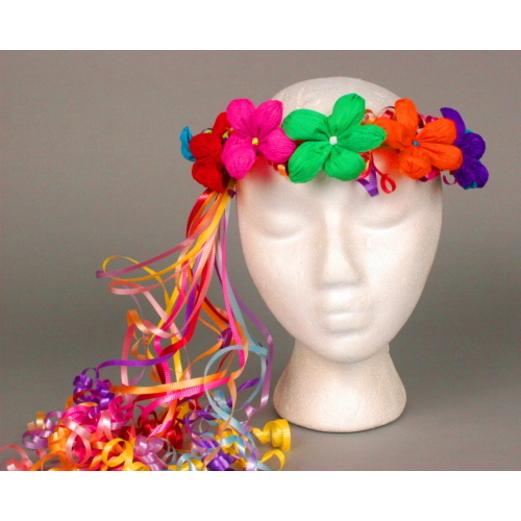 Cinco de Mayo Hats & Headwear Multicolor Flower Crown Image